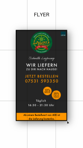 Werbeflyer im handlichen DIN A5 Format